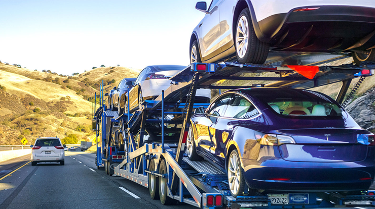 Electric Car shipping from Alabama